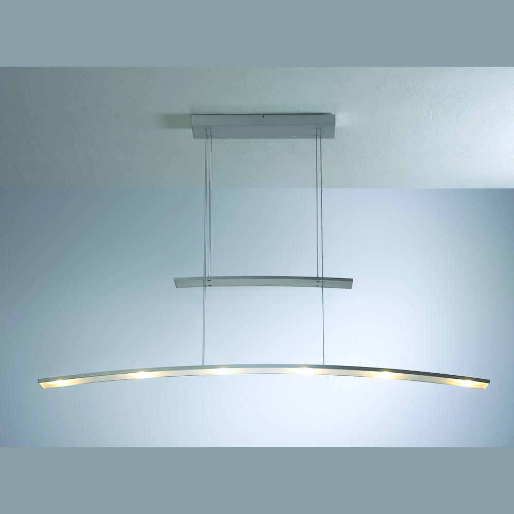 dimmbare led h ngeleuchte mit h henverstellung im schweizer leuchtenhaus. Black Bedroom Furniture Sets. Home Design Ideas