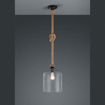 vintage pendellampe in glas. Black Bedroom Furniture Sets. Home Design Ideas