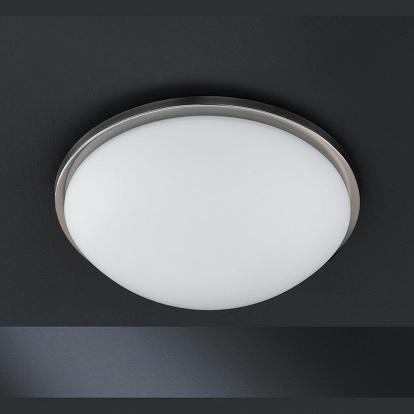 Runde deckenlampe mit glasschirm mittel for Runde deckenlampe