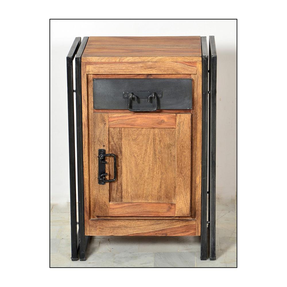 Badezimmer Kommode In Shesham Holz