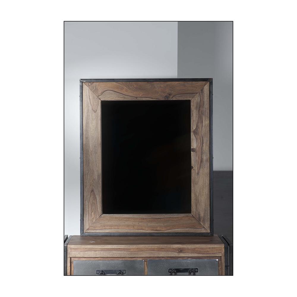 spiegel mit sch nem shesham holzrahmen. Black Bedroom Furniture Sets. Home Design Ideas