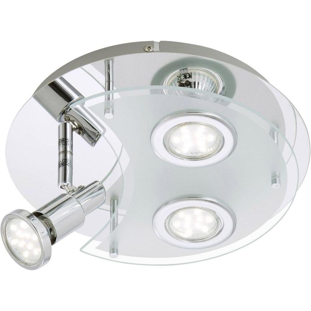 LED Badezimmerlampe Deckenleuchte Chromglänzend