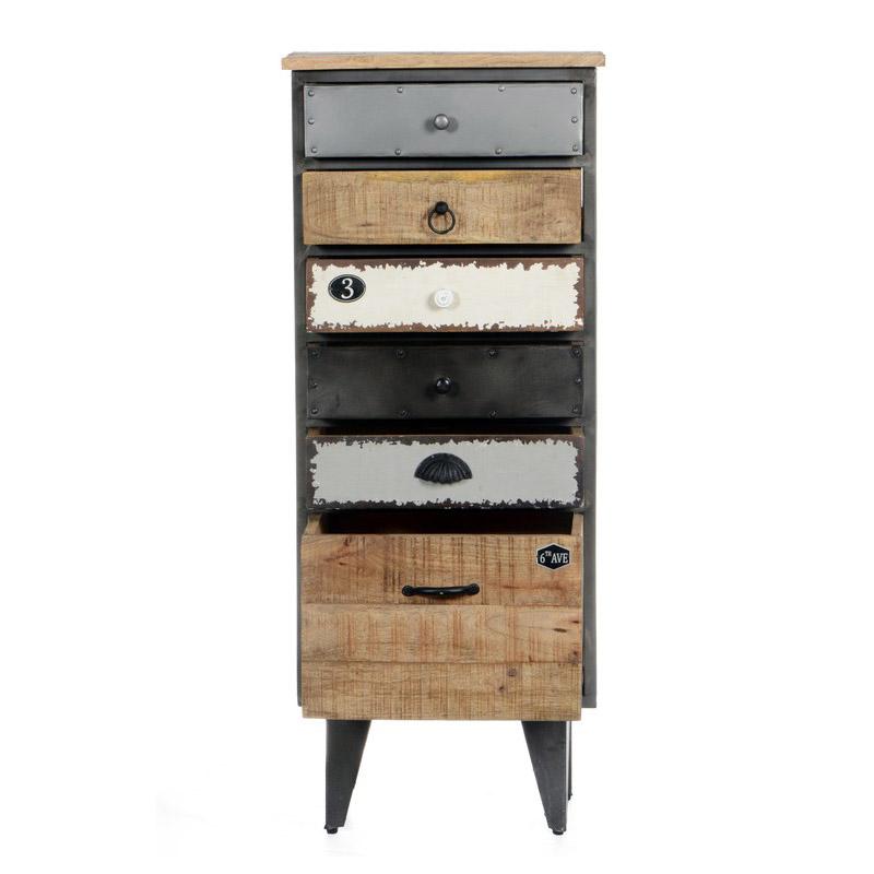 retro stil kommode aus mangoholz. Black Bedroom Furniture Sets. Home Design Ideas
