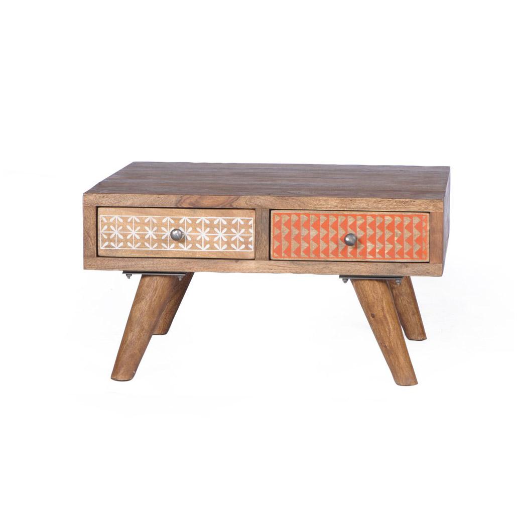 Schoner Holz Couchtisch Im Skandinavischen Stil Vereint Mit Eleganz