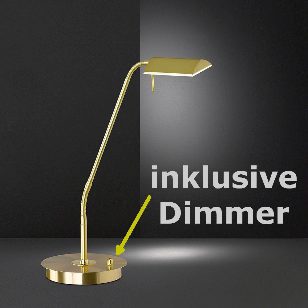 flexibles led licht auf schreibtisch und nachttisch. Black Bedroom Furniture Sets. Home Design Ideas