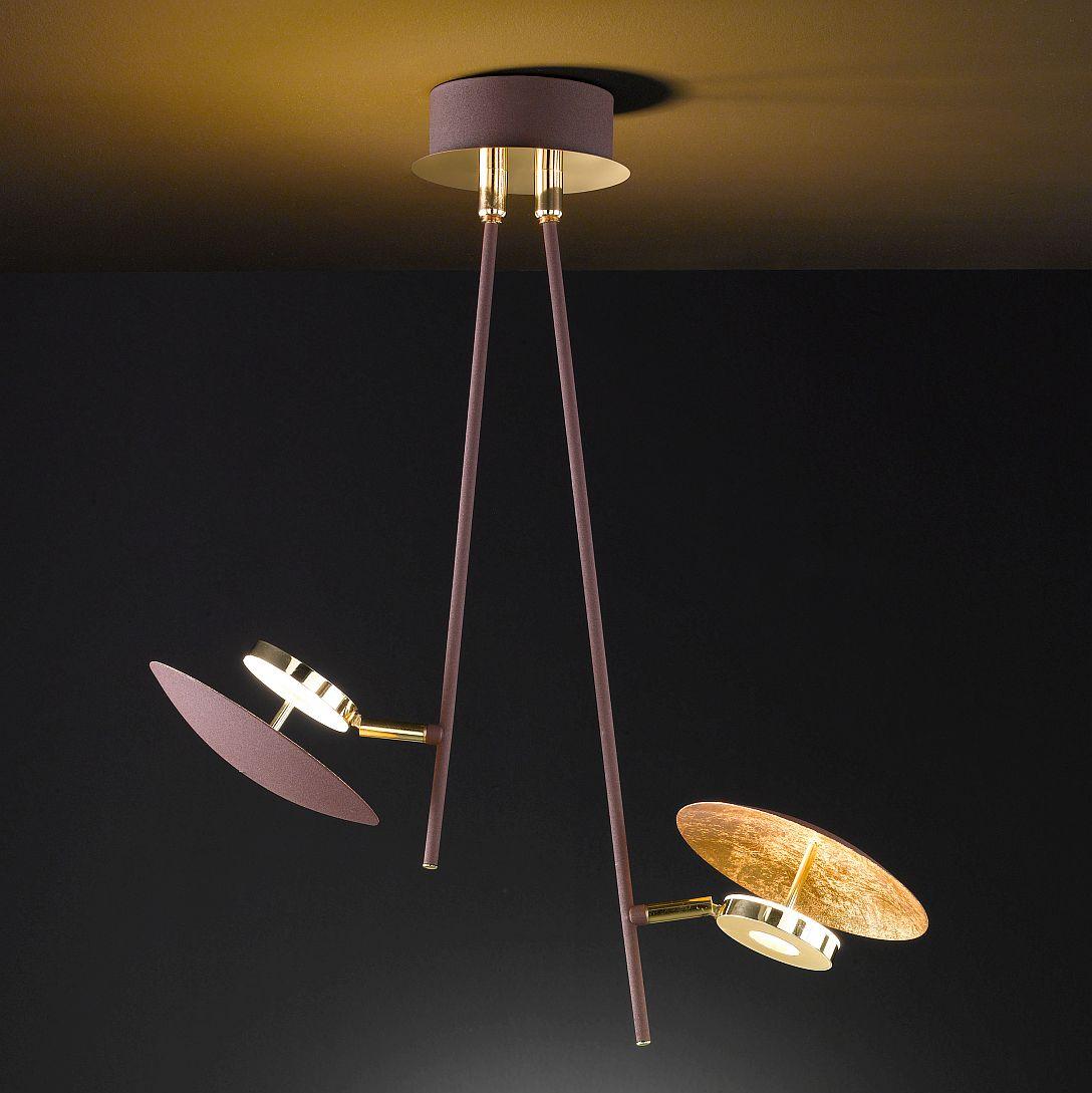 LED vintage look Deckenlampe dimmbar
