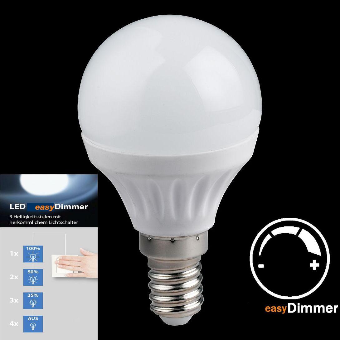 LED Licht dimmbar über Ihren Schalter E14 Fassung