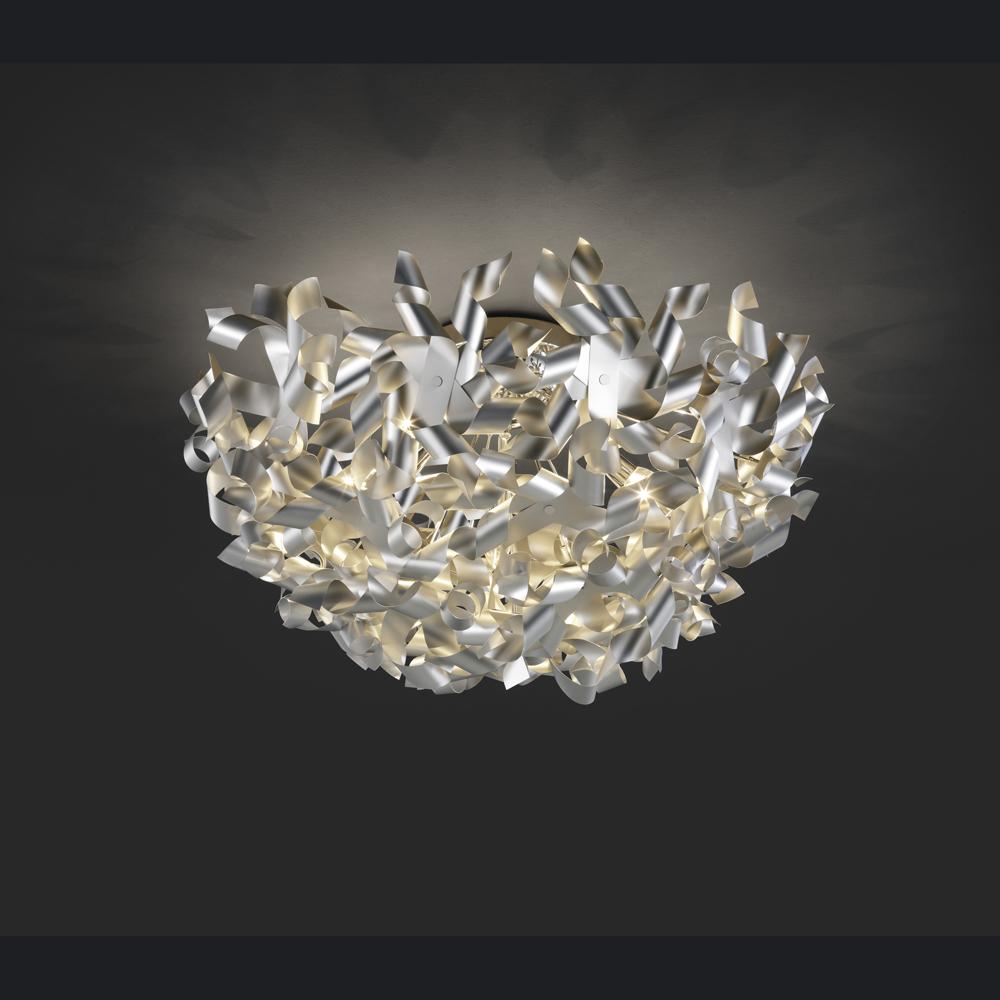 Exclusive deckenlampe in elegantem design in aluminium for Exclusive lampen