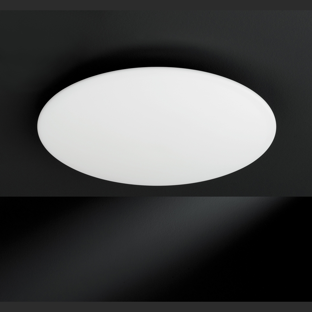 Oubo led panel 30 30 deckenleuchte warmwei 18w 1500lm for Flache deckenlampe
