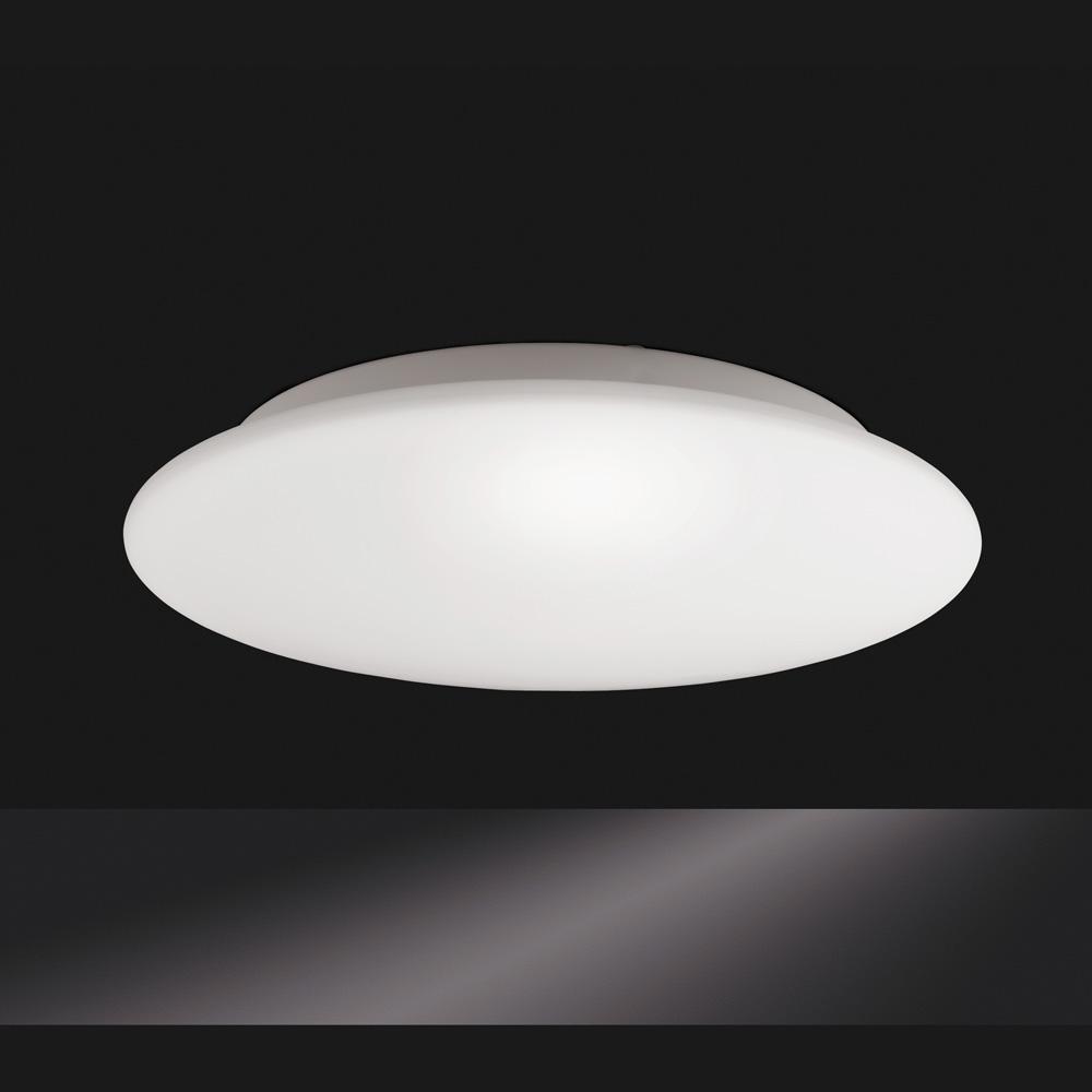 Flache runde deckenlampe mittel deckenleuchte lampe for Flache deckenlampe