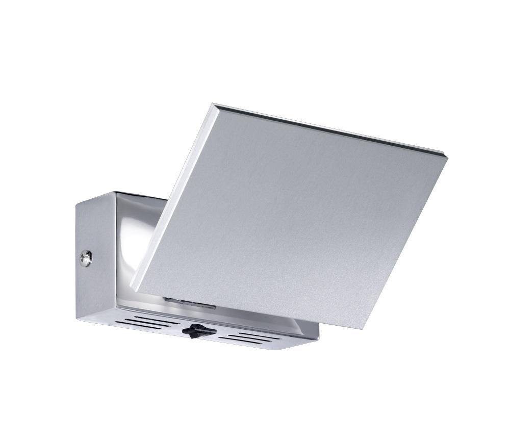 design wandlampe in aluminium geb rstet mit klappbarer front. Black Bedroom Furniture Sets. Home Design Ideas