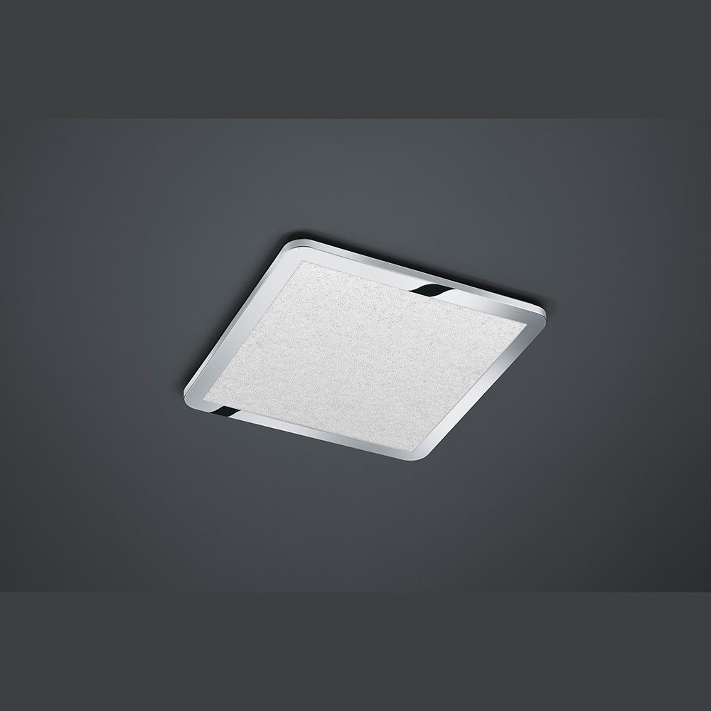 Chromlampe mit Dimmerausstattung für LED Licht auch im kleinen Raum