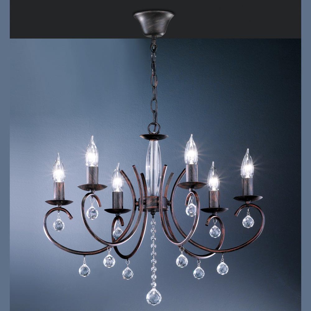Kronleuchter Mit Lampenschirmen Moderne Kronlechter Hier: Kronleuchter Mit Glaskristallen, Antik
