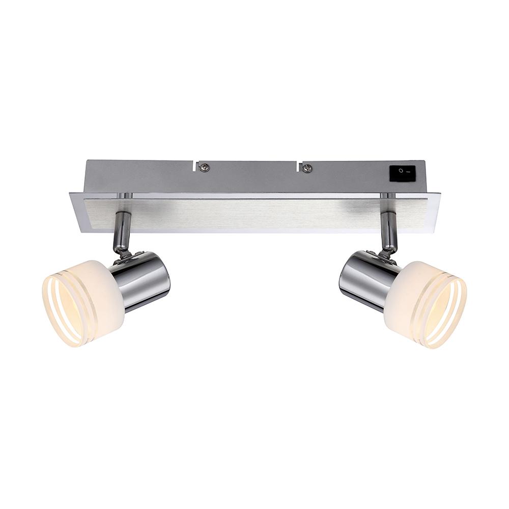 LED Strahler Spots Deckenleuchte drehbar Alu & chrom
