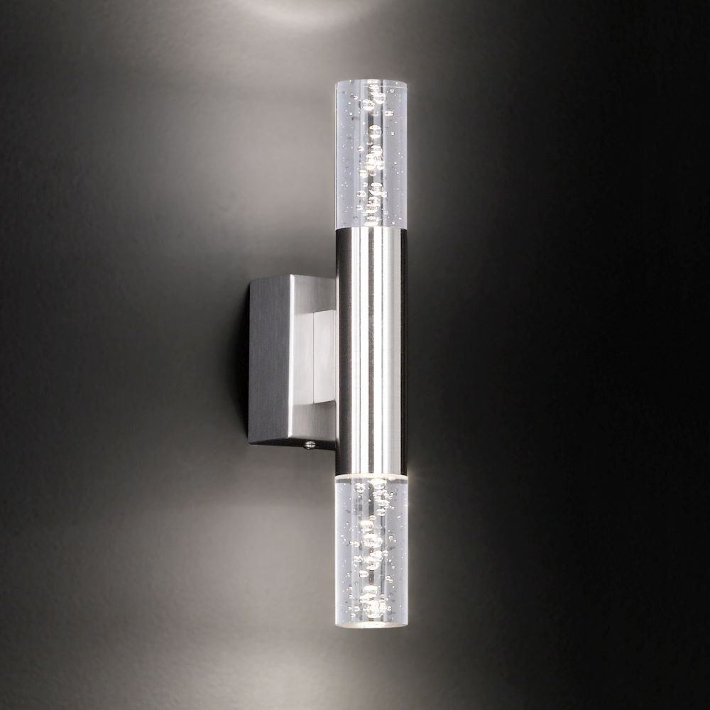 Led wandlampe mit dekorativen acrylgl sern - Led lampen wand ...