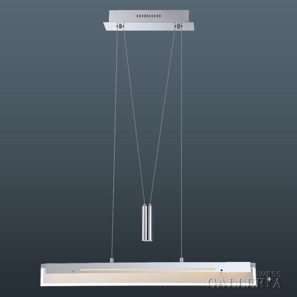 moderne led pendelleuchte h henverstellbar. Black Bedroom Furniture Sets. Home Design Ideas