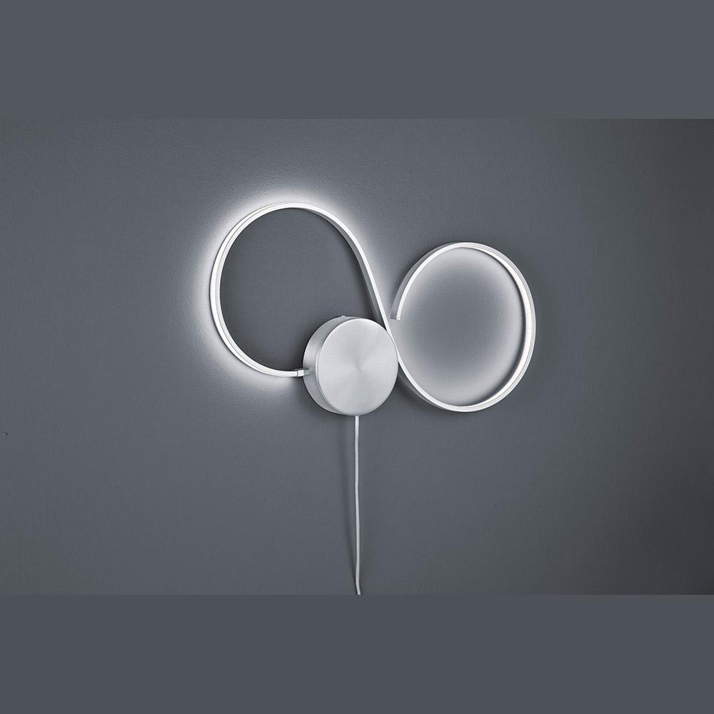 rund in rund wandlampe mit easy dimmer in led technik. Black Bedroom Furniture Sets. Home Design Ideas