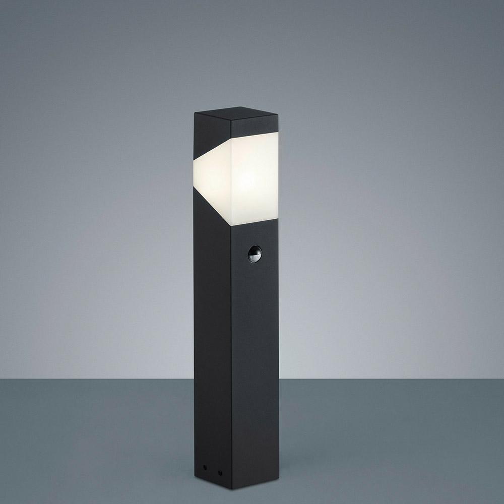 aussenleuchte mit bewegungsmelder in anthrazit f r den garten. Black Bedroom Furniture Sets. Home Design Ideas