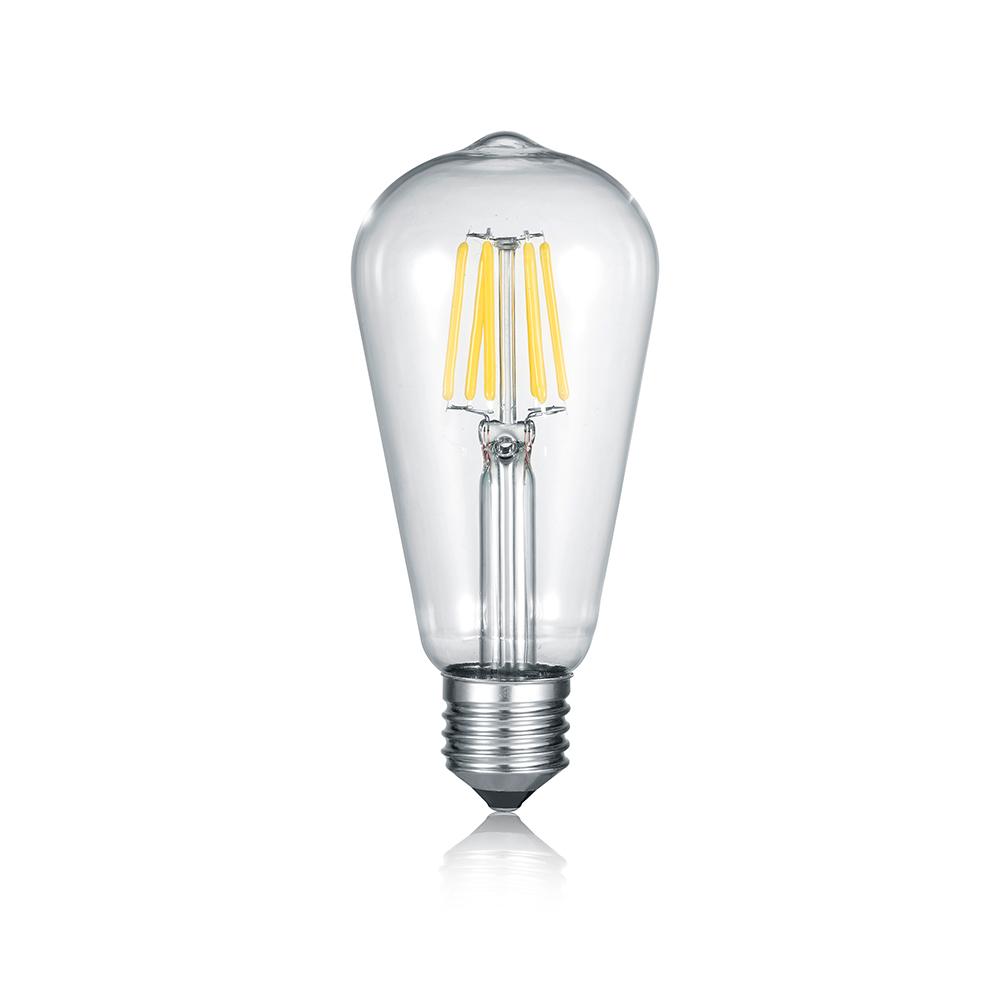 Vintage LED Leuchtmittel E27 Klarglas
