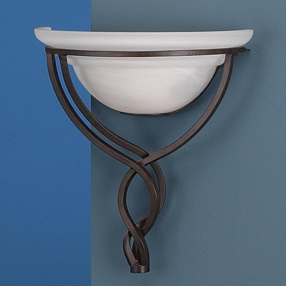 Wandlampe antik verziert - Wandleuchte rustikal ...