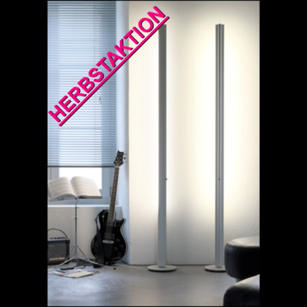 Belux Ypsilon Stehlampe Dimmbar Weiss