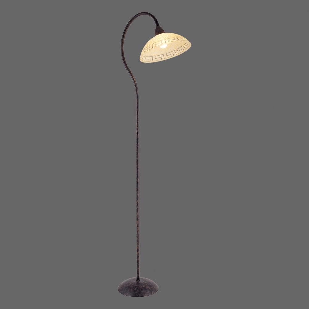 Schlichte Stehlampe Mit Griechischer Borte