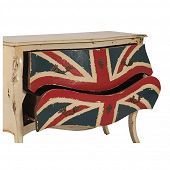 Antike Kommode mit Union Jack-Bild-4