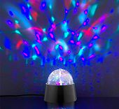 Multicolor Farbwechsel LED Tischlampe als Party-Licht