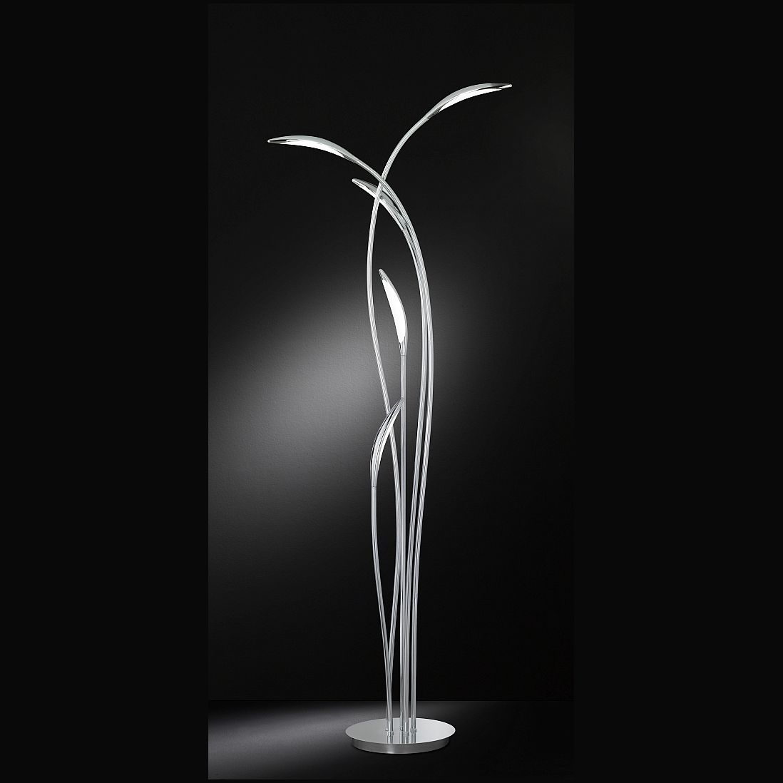 Led Stehlampe In Organischem Design