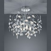 Günstige Deckenleuchte In Floralem Design Für LED Lampen