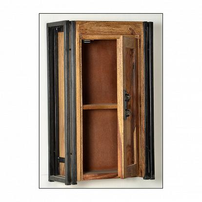 Badezimmer Hängeschrank In Holzoptik