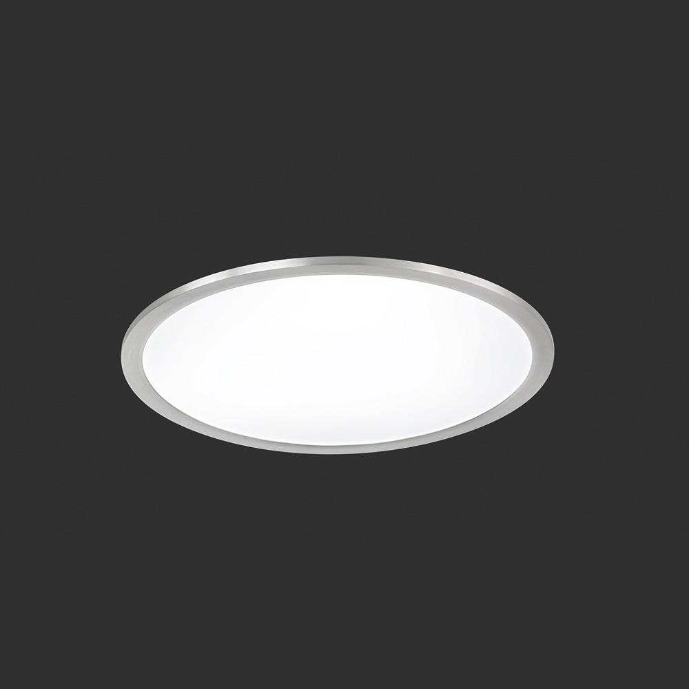 Runde Led Deckenlampe In Flacher Bauform