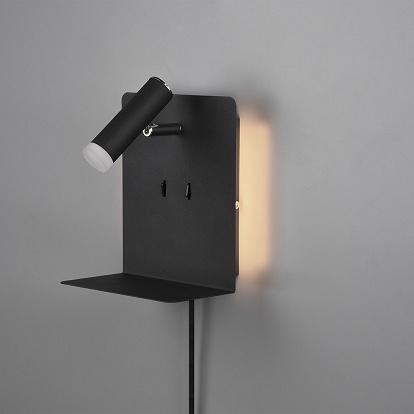Led Smartphone Leuchte In Schwarz