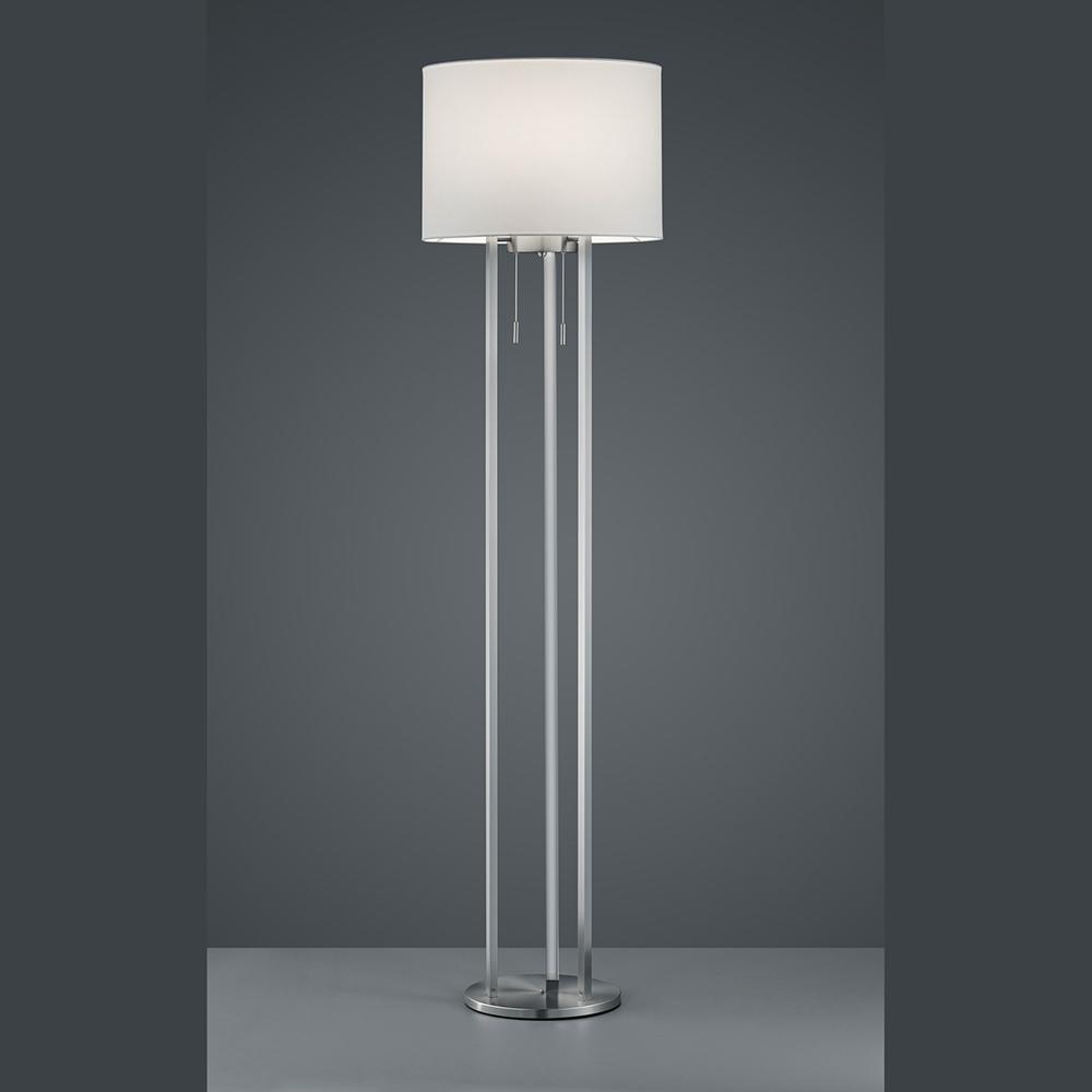 Design Stehlampe Mit Lichtband In Der Saule Led